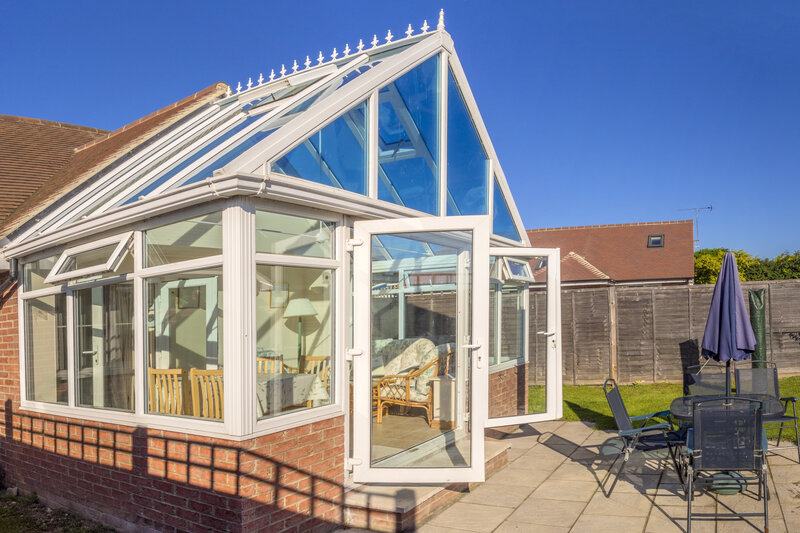 Glass Conservatory in Burnley Lancashire